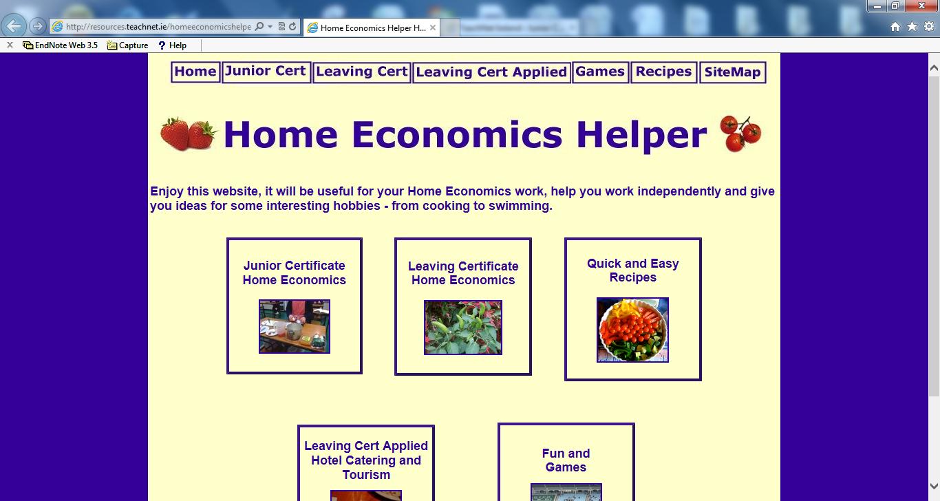 TeachNet Ireland › Categories › Home Economics JC