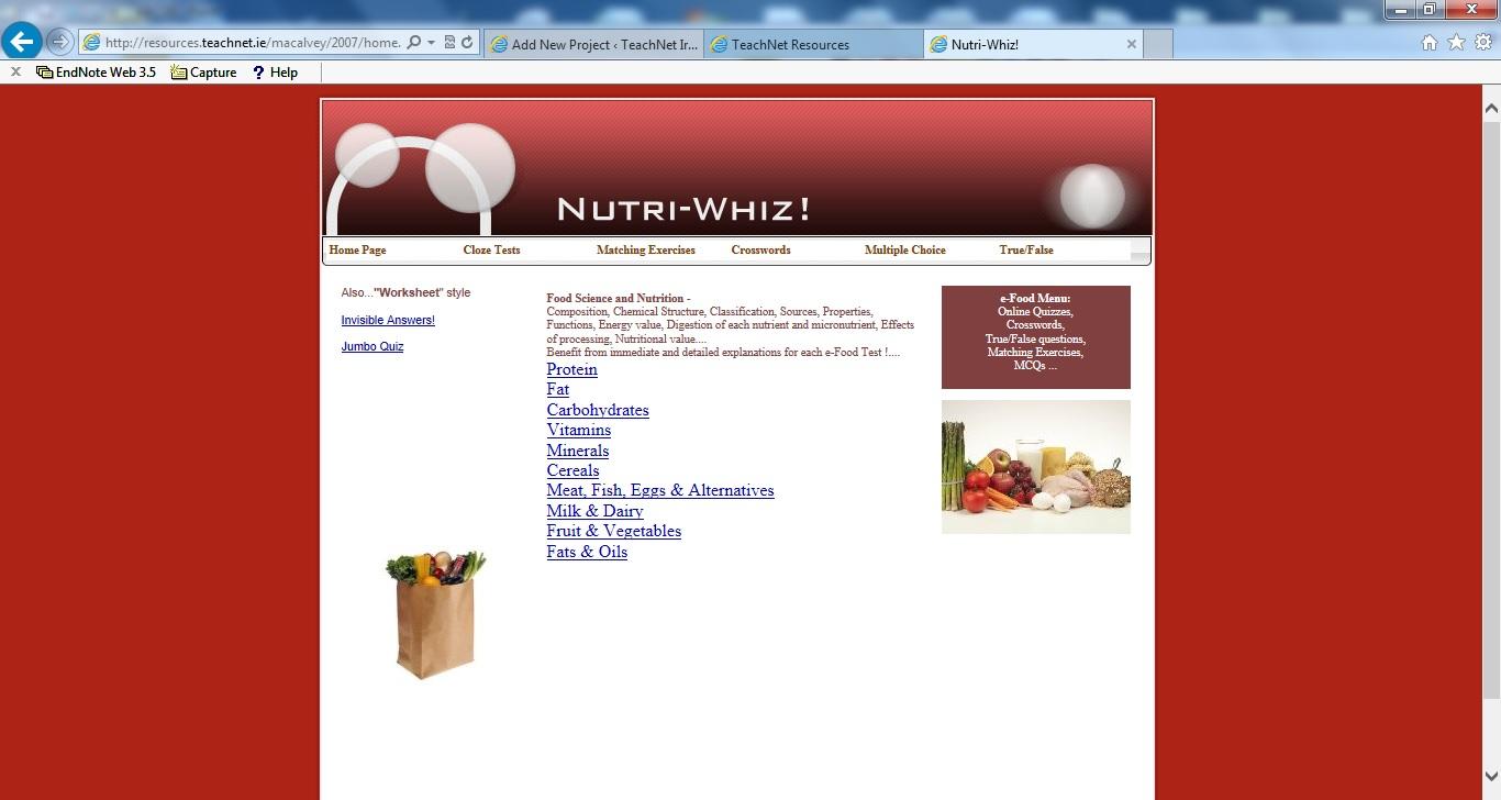 categories senior cycle nutri whiz